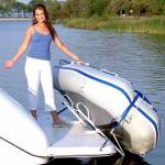 """Traditional Davit for Soft Bottom Dinghies with 6"""", 8"""", or 10"""" Mounts: [HTD-1213P1]"""