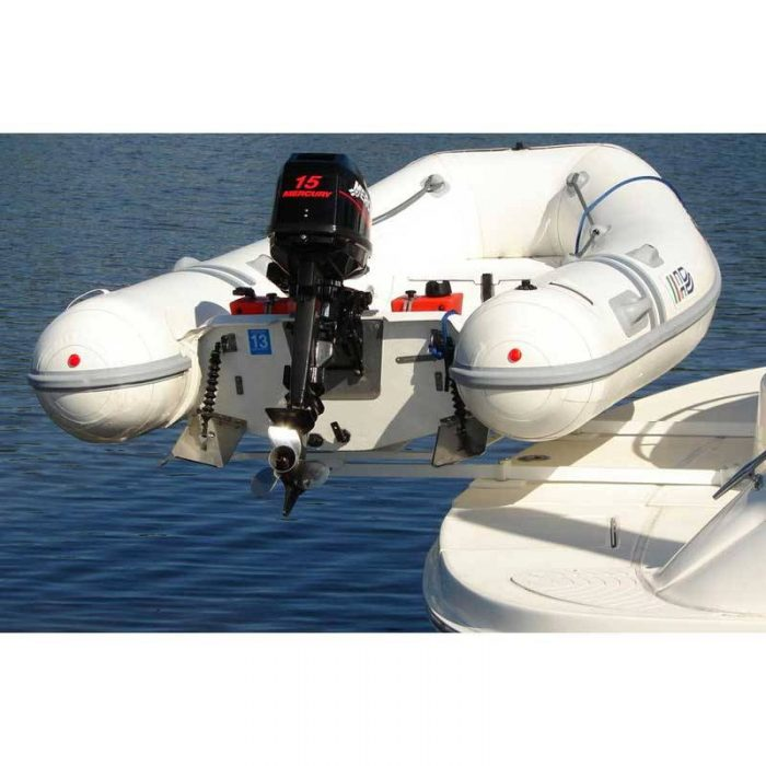 Hurley Marine Traditional Dinghy Davit System with 36 inch Mount