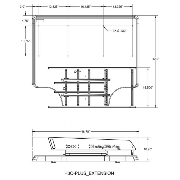 H3O+ Extension-Dimensions