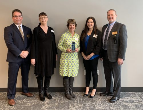 Hurley Accepts Business Excellence Award